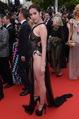Vietnamese Model Ngoc Trinh Could Face Heavy Fines After Skimpy Cannes Dress Causes 'Public Outrage'