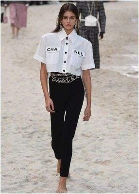 Kaia Gerber is still Chanel's muse this time