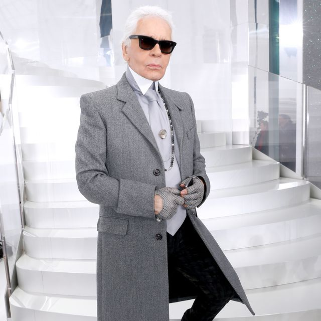 Legendary village design Karl Lagerfled is tribute to the stars in Paris