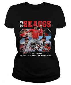 28 Years Tyler Skaggs 1991 2019 thank you for the memories  Classic Ladies