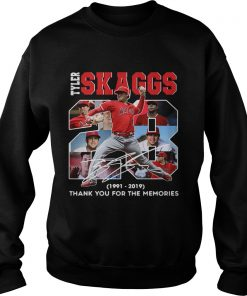 28 Years Tyler Skaggs 1991 2019 thank you for the memories  Sweatshirt