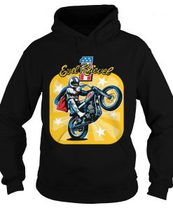 Evel Knievel motorcycles youth kids  Hoodie
