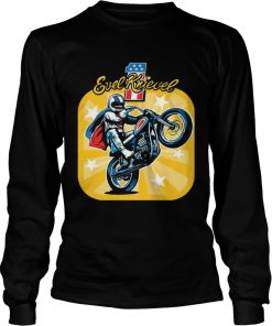 Evel Knievel motorcycles youth kids  LongSleeve