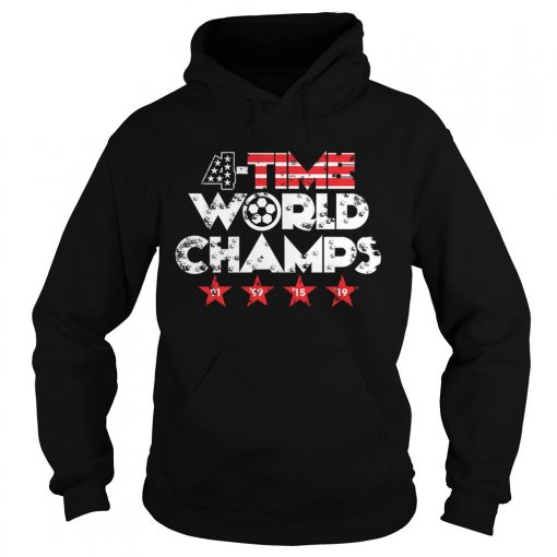 Fourtime World champs 91 99 15 19  Hoodie