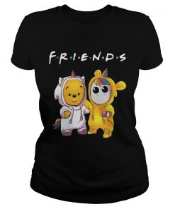 Friends Pooh and Unicorn  Classic Ladies