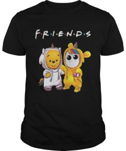 Friends Pooh and Unicorn  Unisex