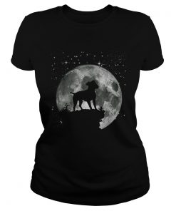 Jack Russell Dog Moon Landing 50th Anniversary  Classic Ladies