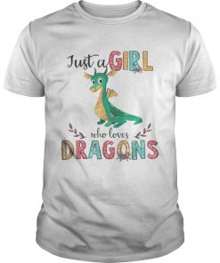 Just A Girl Who Love Dragon Flower  Unisex