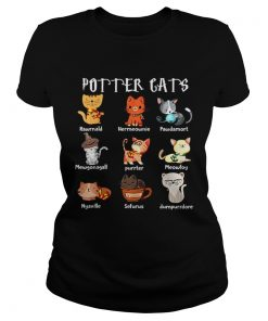 Pretty Purrter Cats Cute Harry Potter And Cats Pawter Meowfoy Dumpurrdore Pawdamort  Classic Ladies