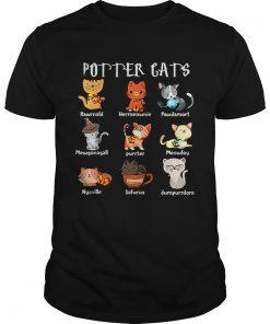 Pretty Purrter Cats Cute Harry Potter And Cats Pawter Meowfoy Dumpurrdore Pawdamort  Unisex
