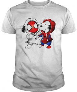 Snoopy and Spiderman  Unisex