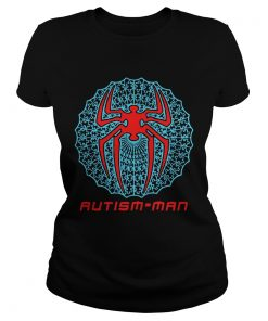 Spider Man Autism Man Shirt Classic Ladies