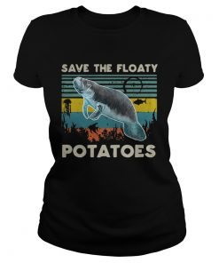 Save the floaty Potatoes vintage  Classic Ladies