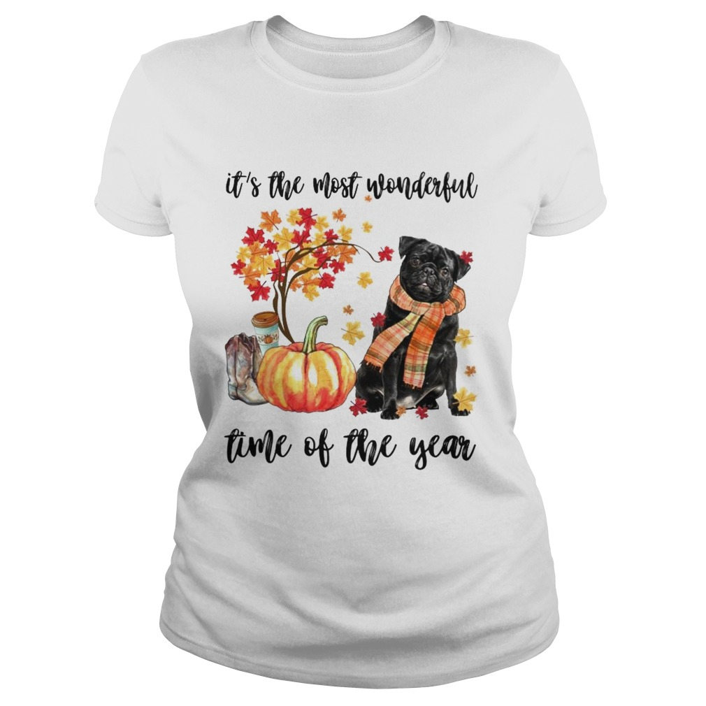 Dog its the most wonderful time of the year Classic Ladies