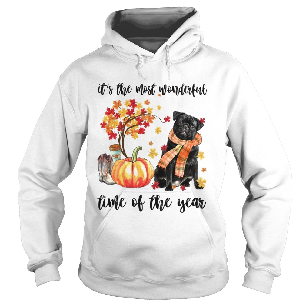 Dog its the most wonderful time of the year Hoodie