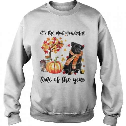 Dog its the most wonderful time of the year  Sweatshirt