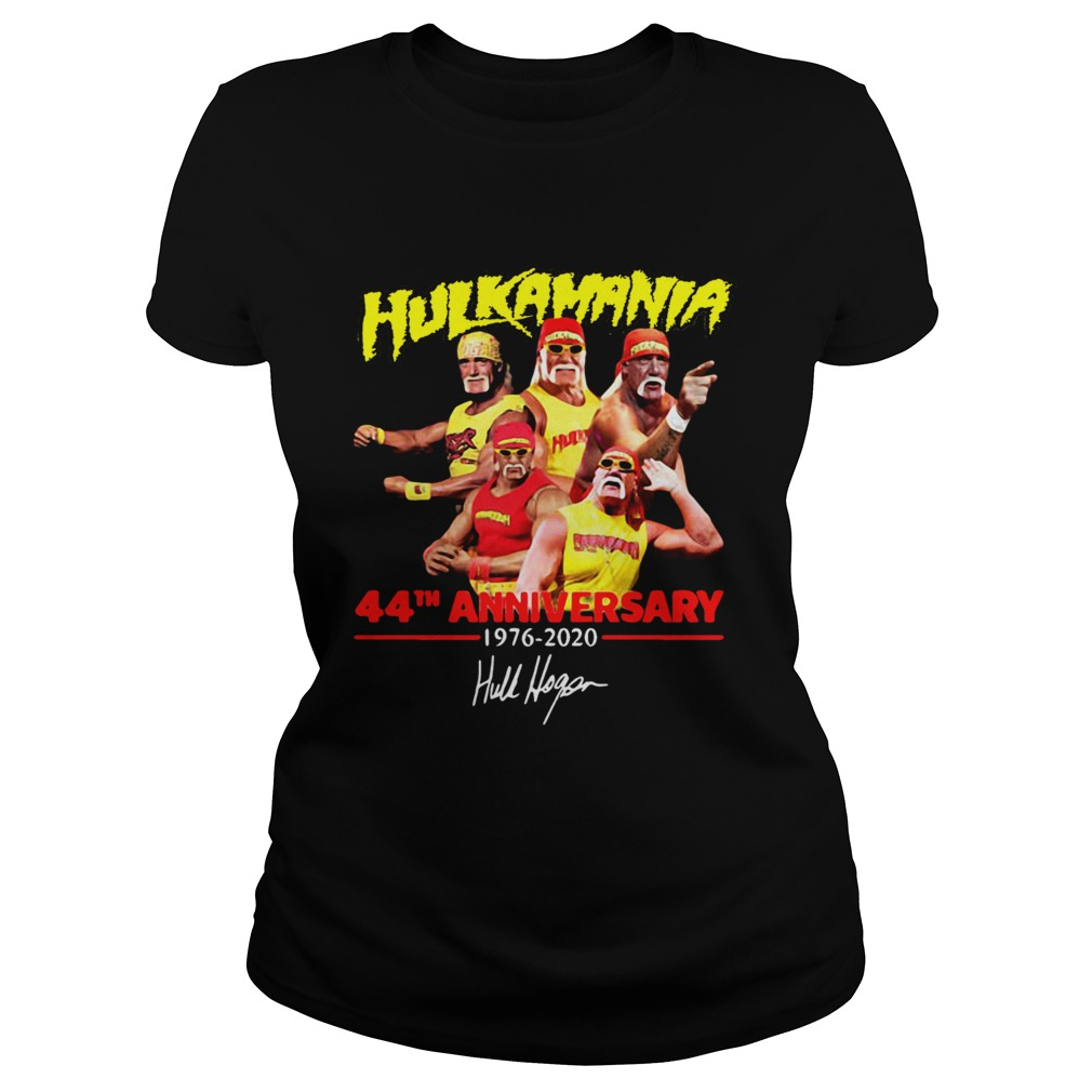 Hulkamania 44th Anniversary 19762020 Signature Classic Ladies