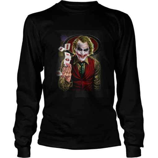San Francisco 49ers Joker Poker Shirt LongSleeve