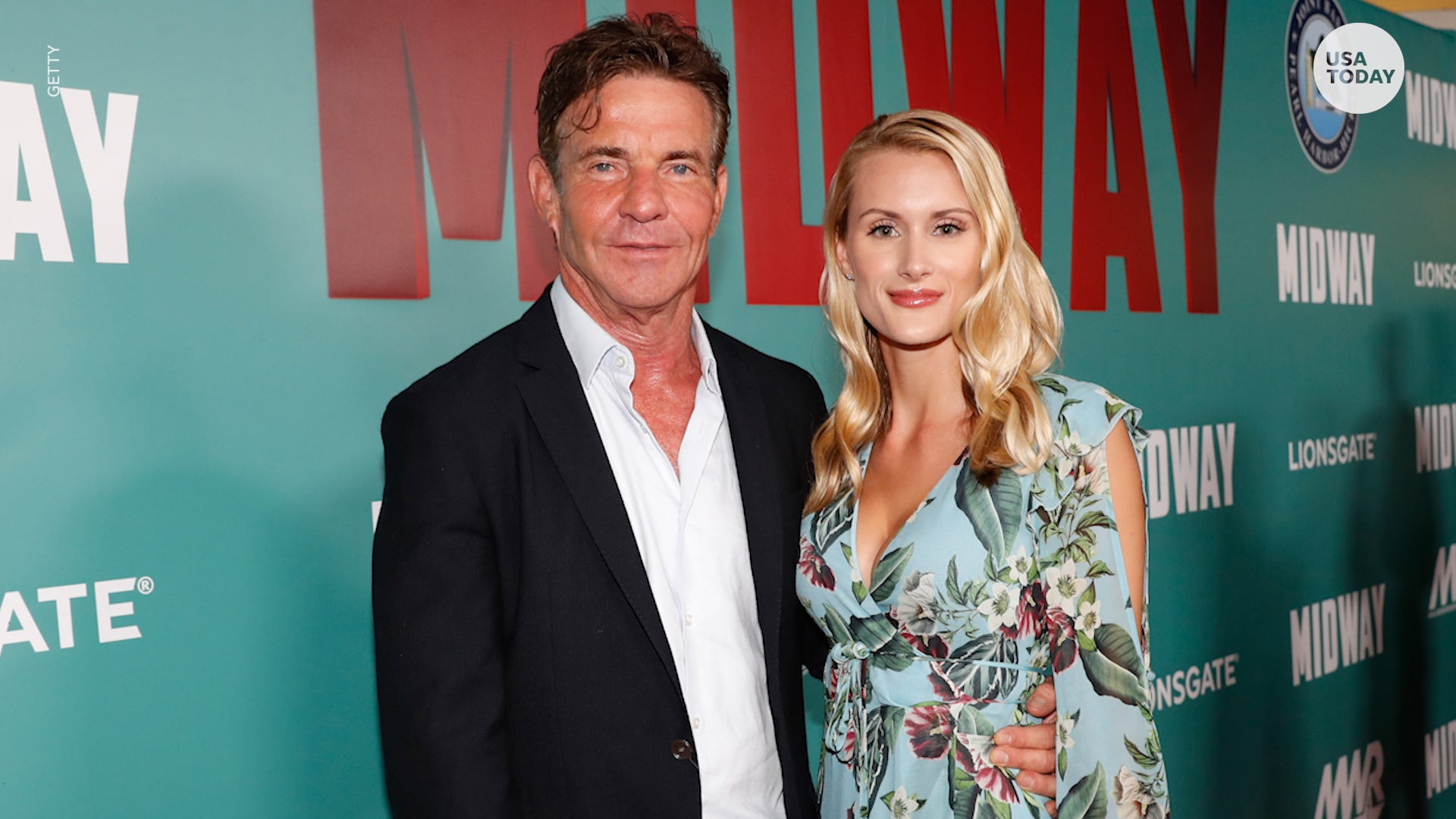 Dennis Quaid, 65, is engaged to 26-year-old Laura Savoie his 'Parent Trap' fiancée reacts