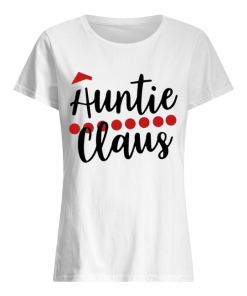 Auntie Claus Christmas Shirt Classic Women's T-shirt