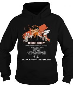 Bruce Bochy San Francisco Giants thank you for the memories  Hoodie
