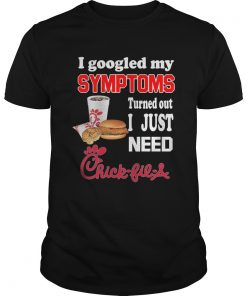 I googled my Symptoms turned out I just need Chick Fil A  Unisex