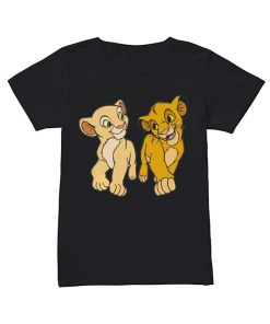 Lion King Simba and Nala  Classic Women's T-shirt