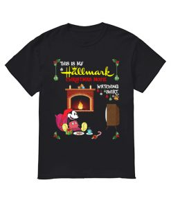 Mickey Mouse this is my hallmark christmas movie watching  Classic Men's T-shirt