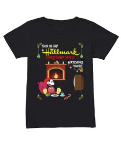 Mickey Mouse this is my hallmark christmas movie watching  Classic Women's T-shirt