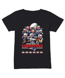Patriot New England Super Bowl LIII Champions Signatures Shirt Classic Women's T-shirt