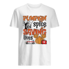 Pumpkin spice and saving lives Halloween  Classic Men's T-shirt