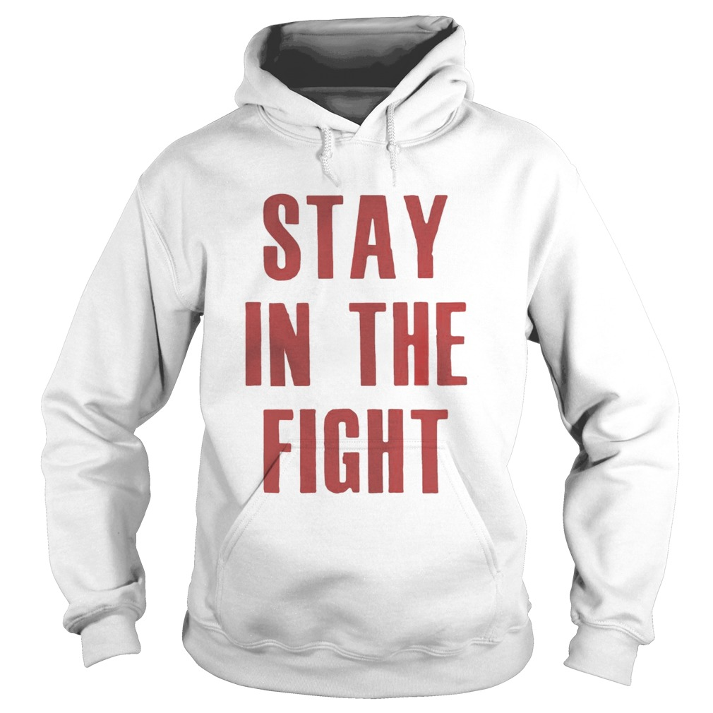 Stay In The Fight Washington DC Baseball Fan Support Shirt Hoodie
