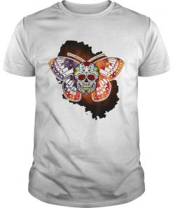 Sugar Skull Butterfly Day Of The Death Multiple Sclerosis  Unisex