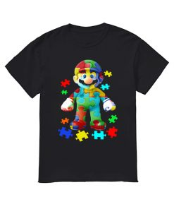 Super Mario Autism Shirt Classic Men's T-shirt