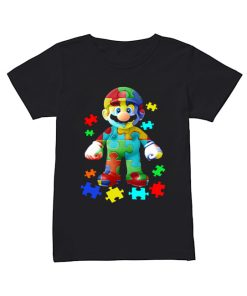 Super Mario Autism Shirt Classic Women's T-shirt