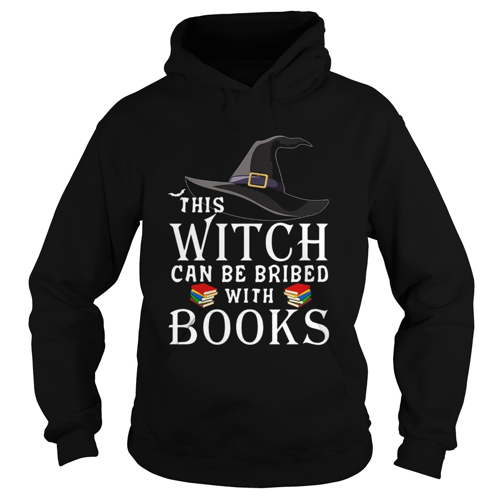 This Witch can be bribed with Books Hoodie