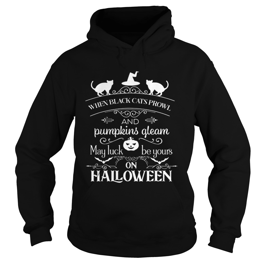 When Black Cats Prowl Hoodie