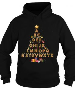 Alphabet Christmas Lights  Hoodie