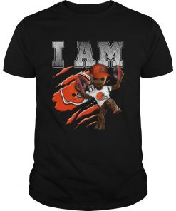 Baby Groot I Am Cleveland Browns  Unisex