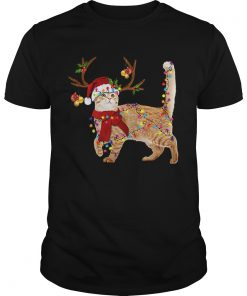 Cat gorgeous reindeer Christmas  Unisex