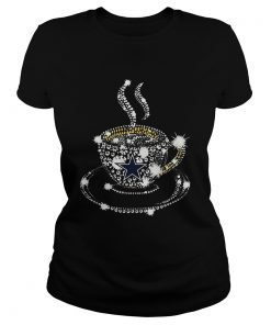 Coffee Dallas Cowboys rhinestone  Classic Ladies