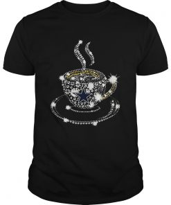 Coffee Dallas Cowboys rhinestone  Unisex