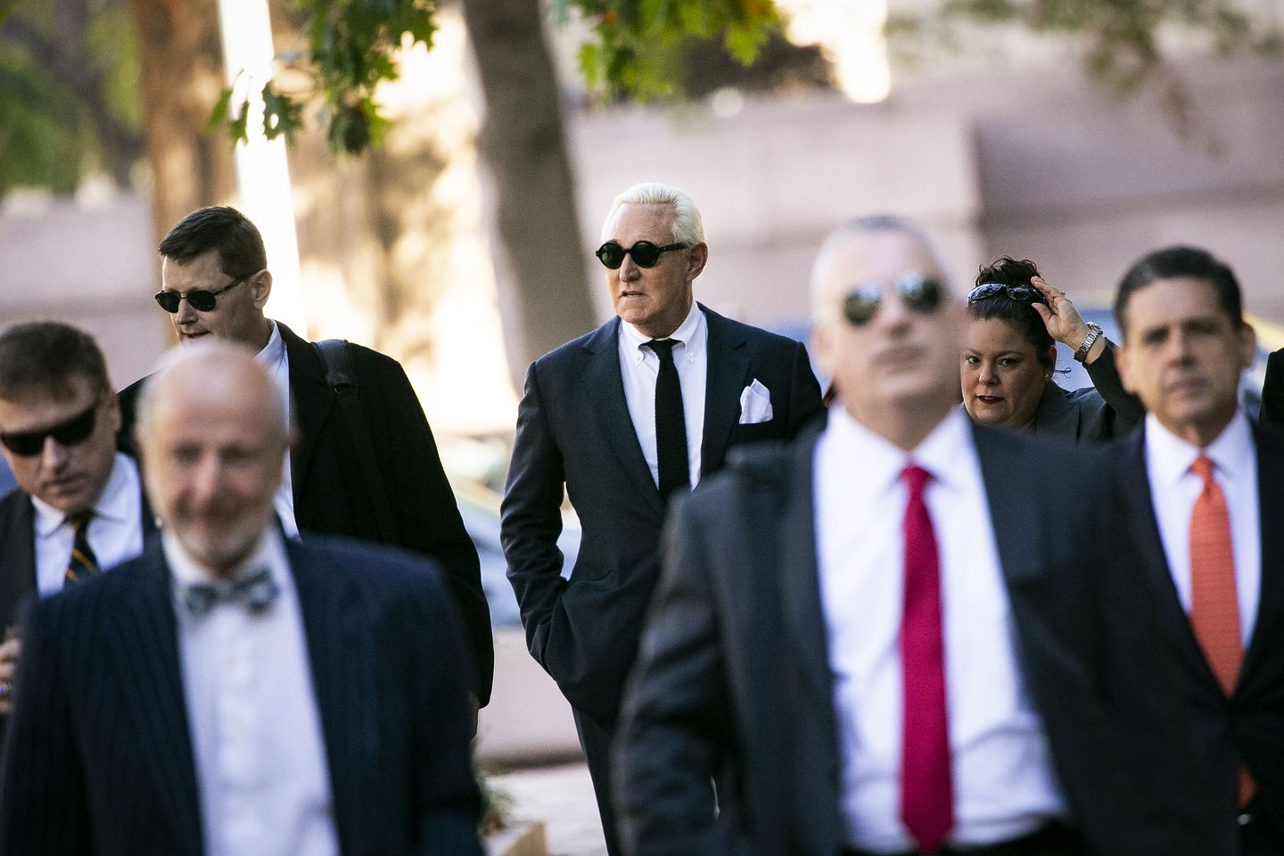 Roger Stone has turned his court appearances into a fashion show