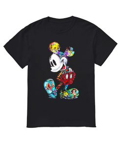 Mickey Mouse Tattoos Disney All Characters  Classic Men's T-shirt