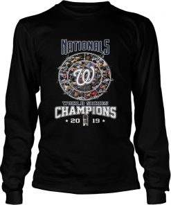 Nationals Signatures World Series Champions 2019  LongSleeve