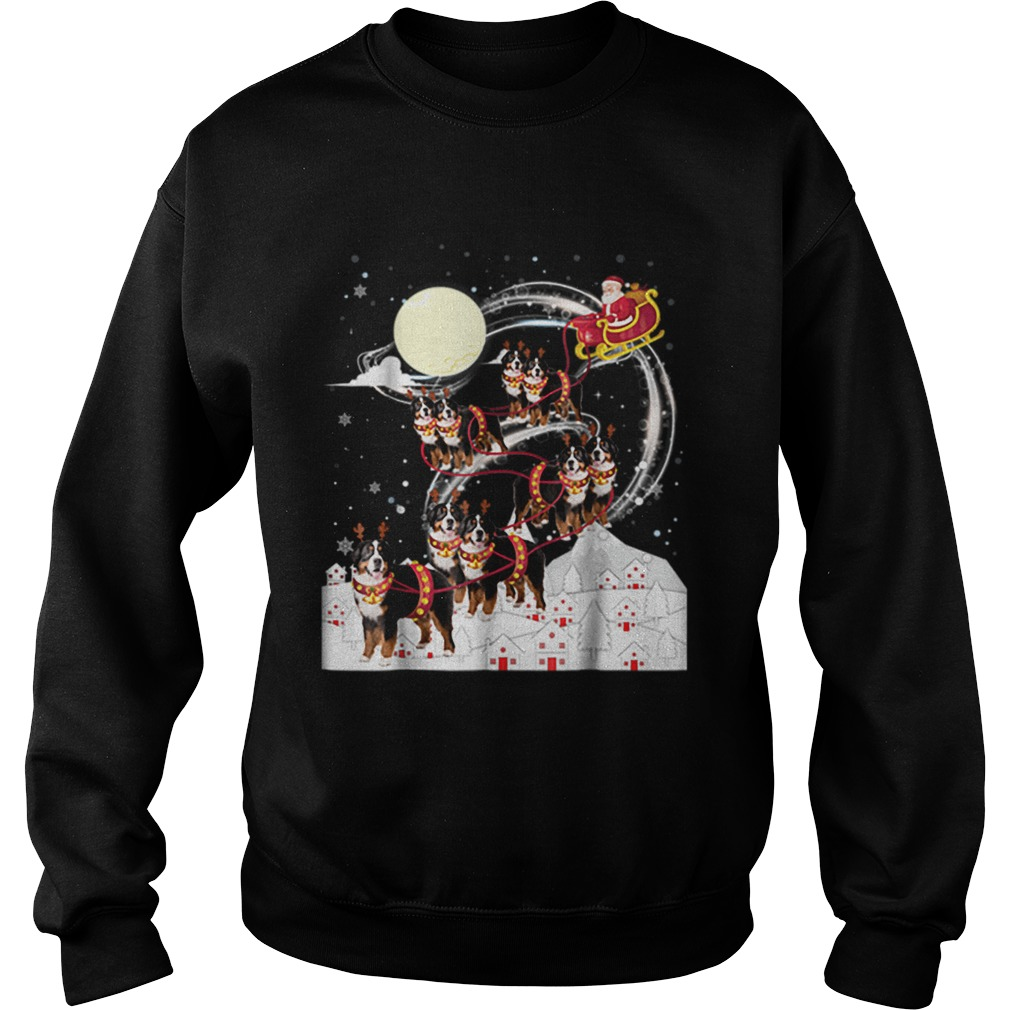 Nice Bernese Mountain Dog Reindeer Christmas 2018 Dog Sweatshirt