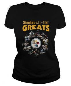 Pittsburgh Steelers AllTime Greats Players Signatures  Classic Ladies