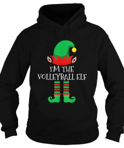 The Volleyball Elf Family Matching Group Christmas  Hoodie