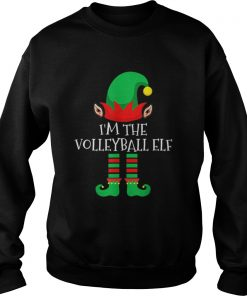 The Volleyball Elf Family Matching Group Christmas  Sweatshirt