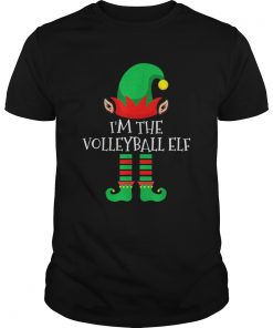 The Volleyball Elf Family Matching Group Christmas  Unisex